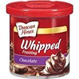 - Duncan Hines, Whipped Chocolate Frosting, 14oz Tub (Pack of 3)