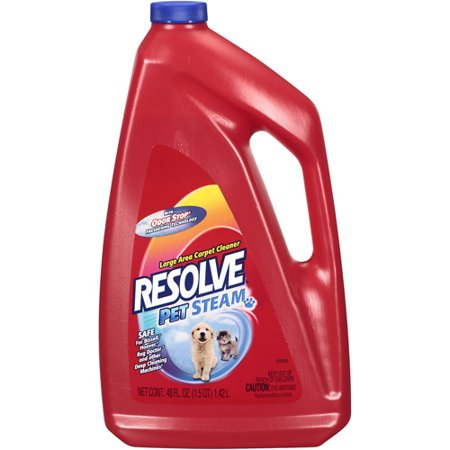 Resolve Pet Steam Concentrate Carpet Cleaner 48 Oz