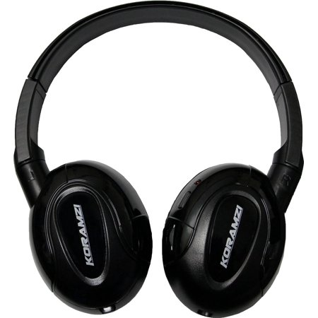 Koramzi Ir900 Ir Headphones Wireless   Foldable With Aux Input Designed For In Car Tv  Dvd    Video Listening