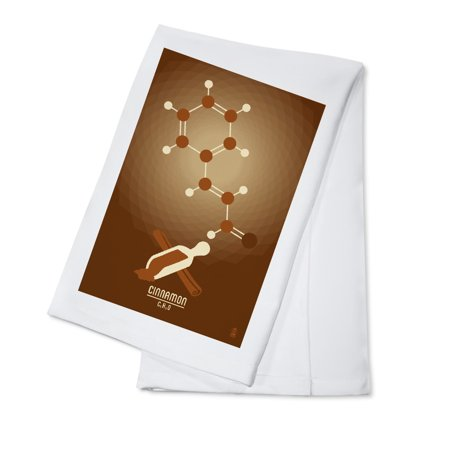 Cinnamon - Chemical Elements - Lantern Press Artwork (100% Cotton Kitchen Towel)