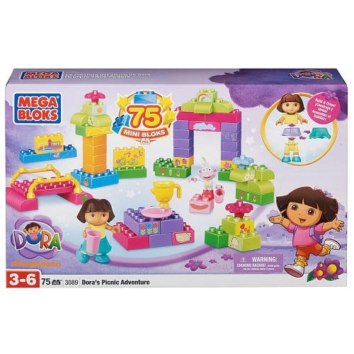 Mega Bloks Dora's Picnic Adventure Super Set