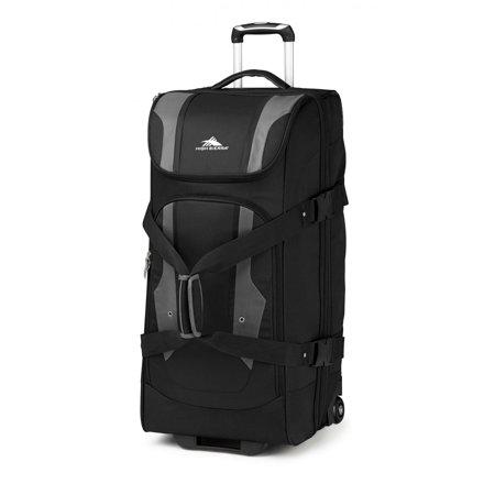 High Sierra Luggage 636071053 Black/Charcoal Adventure Access 32