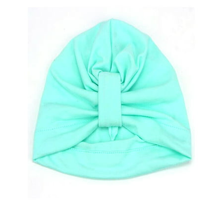 Kid Bohemia 100% Cotton Baby Knot Hat Newborn Cap Candy Color
