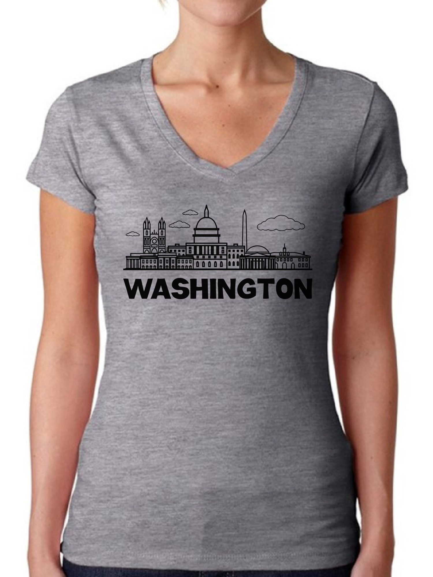 Washington, DC Flag Long Sleeve T-Shirt – State Traditions