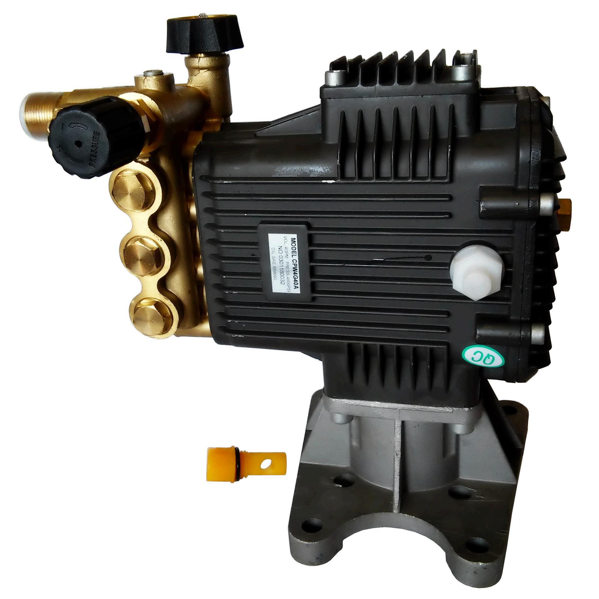 "4000 PSI Pressure Washer Pump Horizontal Shaft 1.0"" inch Fits Honda Engine Water"