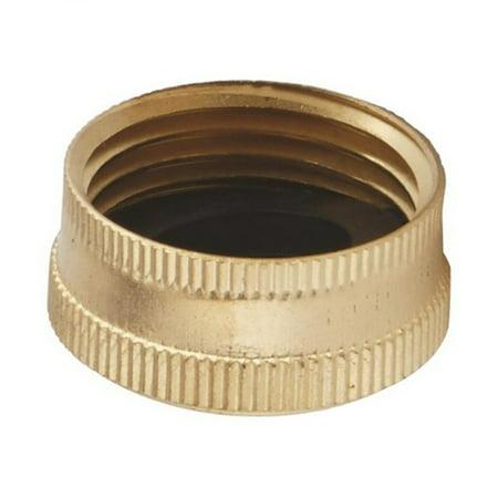Brass Garden Hose Cap (Brass Hose Cap)