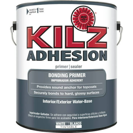 Kilz adhesion high bonding interior latex primer sealer white for Kilz kilz 2 interior exterior latex primer