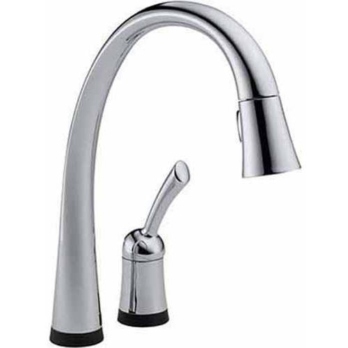 Delta Pillar Pullout Spray Touch Kitchen Faucet, Available in Various Colors