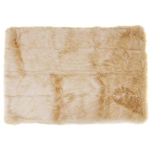 Home Decor Inc. Flokati Taupe Rug
