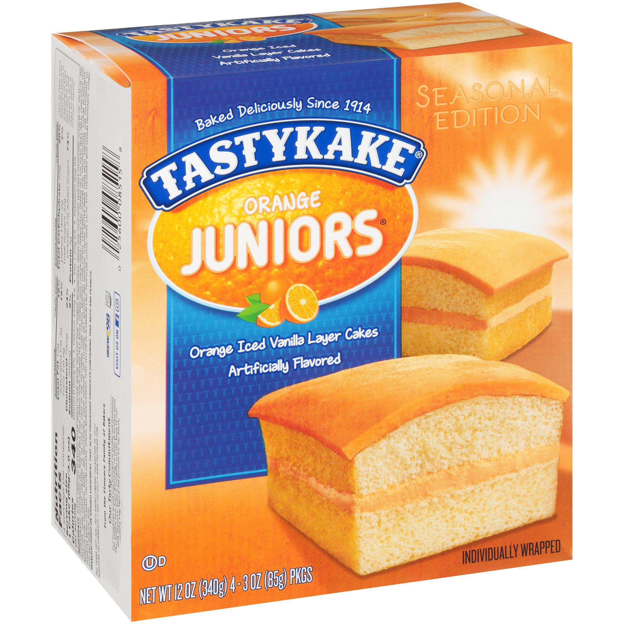 Tastykake® Juniors® Orange Cakes 4 ct