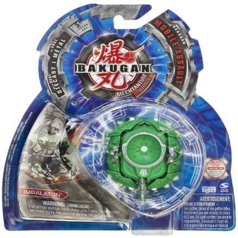 "Impalaton (Ventus - Green) : Bakugan Mechtanium Surge Mobile Assault - ""NOT"" Randomly Picked (CCB05106)"