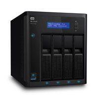 WD 16TB My Cloud Pro Series PR4100 Network Attached Storage - NAS - WDBNFA0160KBK-NESN
