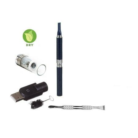 Z-Star Dry Herb Vape Pen E-Cigarette Electronic Cigarette Vaporizer For Dry Herbs 650 mah Battery Vaporizer Pen Kit (Black)
