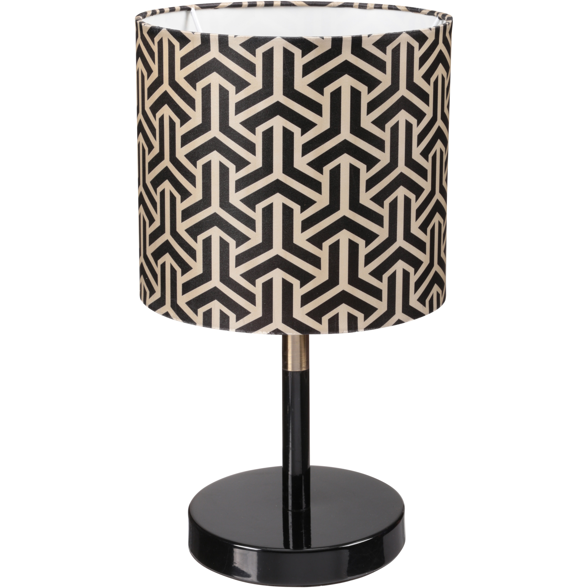 Mainstays Geo Metallic Stick Lamp