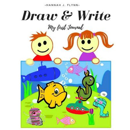Draw and Write Journal : Draw and Write Journal for Kids: A Creative Writing Drawing Journal with Drawing Space and Half Page Lined Paper, Boy and Girl Story Sketch Journal Diary Handwriting
