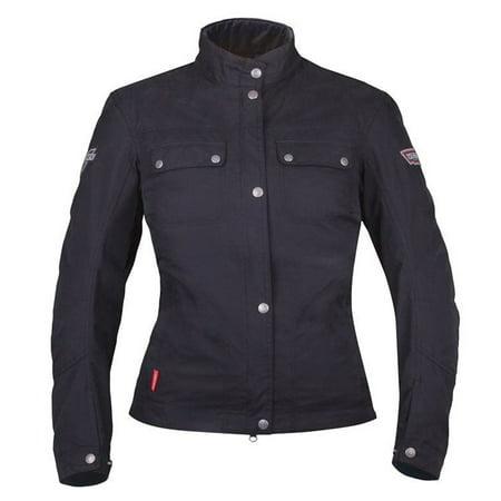 Victory Motorcycle OEM Women's Black Skye Riding Jacket, Large,