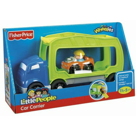 Little People Wheelies Car Carrier (Little Tikes Car Carrier)