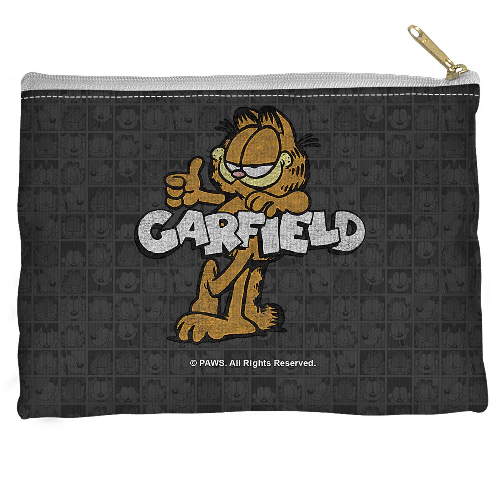 Garfield Retro Accessory Pouch White 12.5X8.5