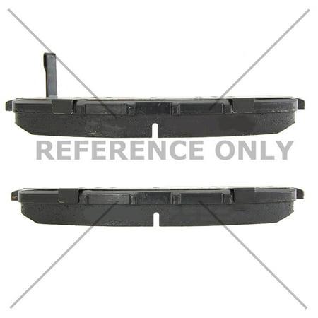 Centric Brake Disc - Centric 103.17360 Disc Brake Pad Set for Infiniti Q50, Q60, QX50, Nissan Rogue