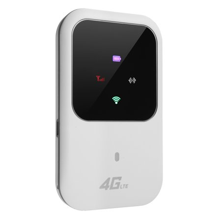 4G LTE Portable Travel Wireless Wi-Fi Router Hotspot LED Lights Supports 5 Users Modem for Car Home Mobile Travel Camping - image 3 of 10