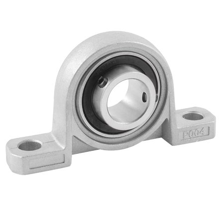 Unique Bargains Pillow Block 20mm Bore Diameter Ball Bearing Stainless Steel UP004 - image 1 of 1