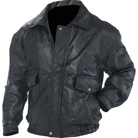 Biker Bomber Jacket Genuine Leather Motorcycle Flight Coat Lined - Ladies Leather Biker Motorcycle Jacket