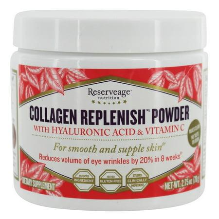 Reserveage Nutrition  Collagen Replenish Powder - 2.75 oz.