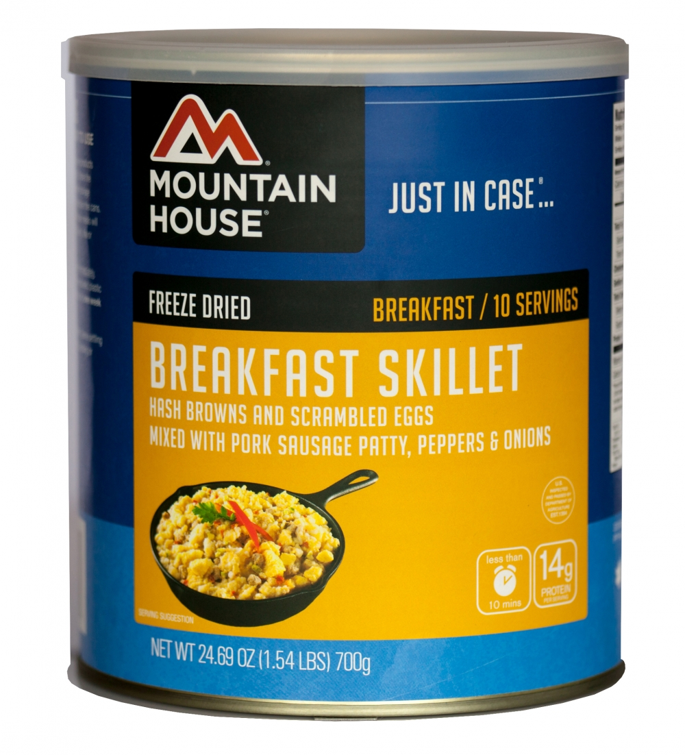 Mountain House (6 Pack) Breakfast Skillet #10 Can by Mountain House