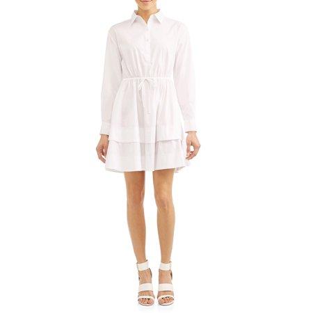 Gemma Belted Shirt Dress Women's