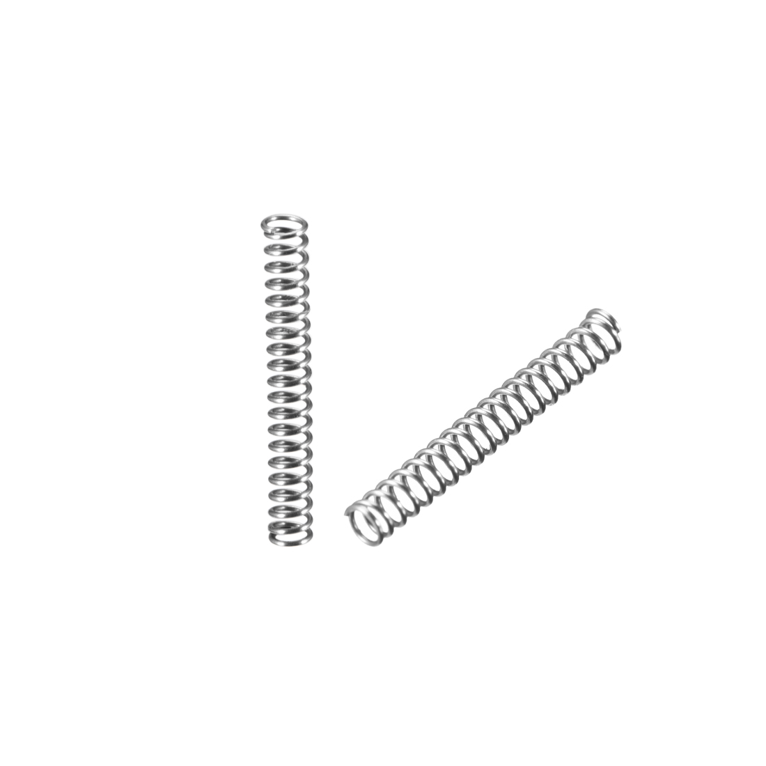 0.3x2x15mm Stainless Steel Coil Extended Compressed Spring 20Pcs - image 3 of 3