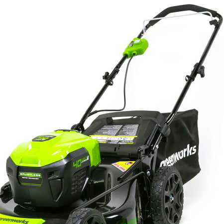 Greenworks G-MAX 40V 21 inch Brushless Dual Port Lawn Mower, Battery and Charger Not Included 2506502