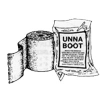 Unna Boot Bandage 4 Inches X 10 Yards  - 1