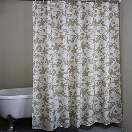 ivy leaves Waterproof Fabric Extra-Long Shower Curtain 72 x 78 ...