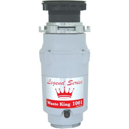 Standard Waste Disposer Flange - Waste King Legend Series EZ-Mount 1/2 HP Continuous Feed Garbage Disposal