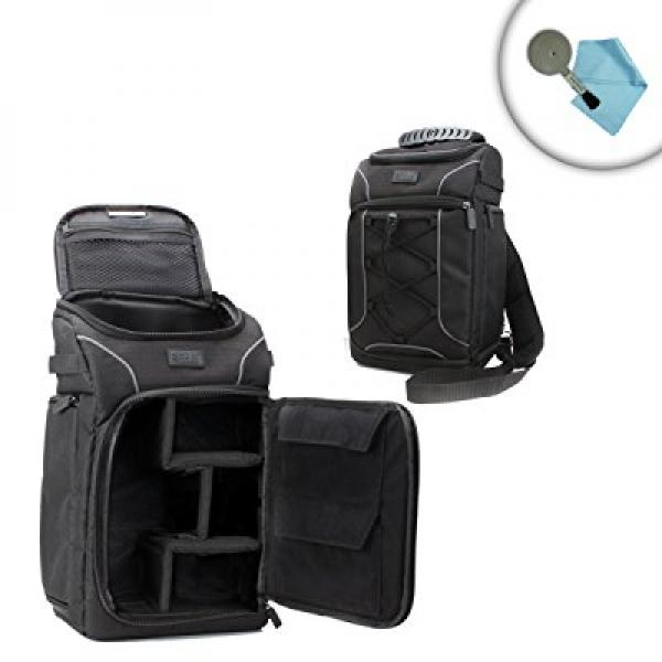 Accessory Genie Compact DSLR Camera Bag by USA GEAR w/ Wa...