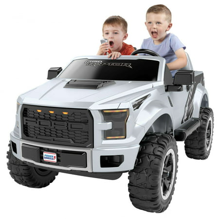 Power Wheels Ford F-150 Raptor Extreme, Silver - Walmart.com