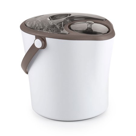 Polder Insulated Ice Bucket Wine Champagne Cooler Chill Station w/ Lids,