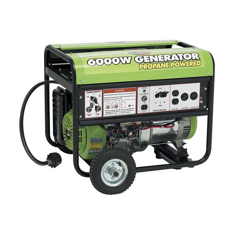 All Power America APG3560CN, 6000W Watts Propane Powered Portable Generator for Home Emergency Power back up, RV Generator, EPA Certified