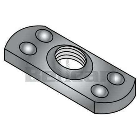 Welded Box - Shorpioen 38NWP2 0.37-24 Multi Projection Tab Weld Nut, Plain - Box of 1000