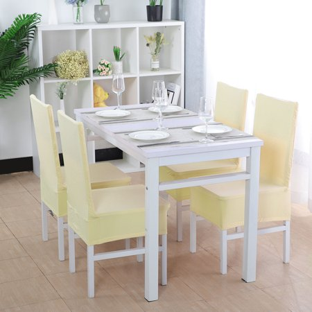 Stretchy Seat Kitchen Dining Chair Cover Restaurant Wedding Decor