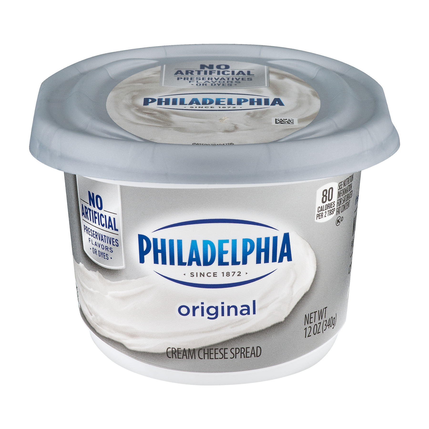 Philadelphia Original Cream Cheese Spread, 12 oz