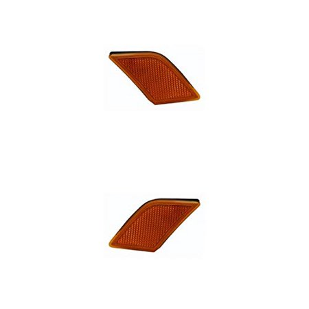 Side Marker Light - Cooling Direct Fit/For MB2555100; MB2554100 08-11 Mb C-Class Side Marker Lamp Unit Pair Left and Right NSF - Left Side Unit