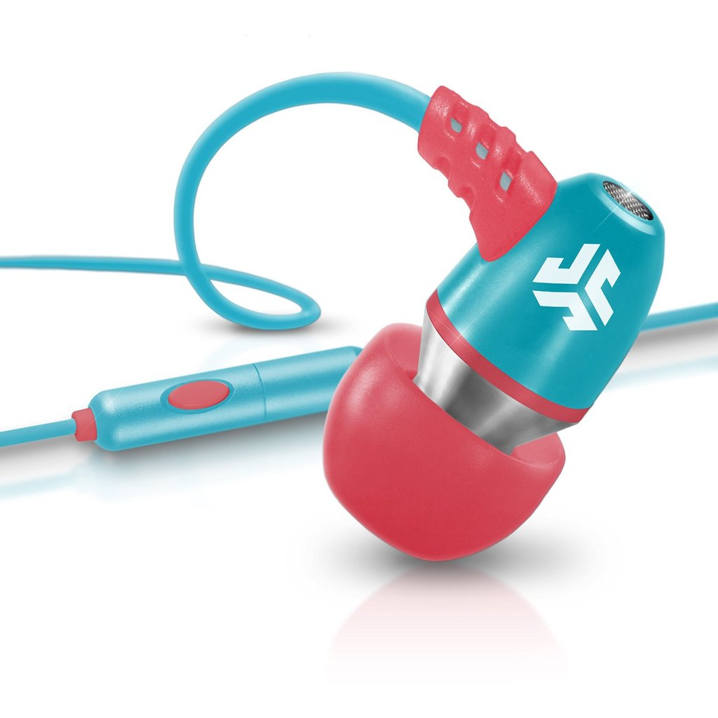 Eclipse-cld4pl Jlab Metal Coral/teal Wired Earbuds