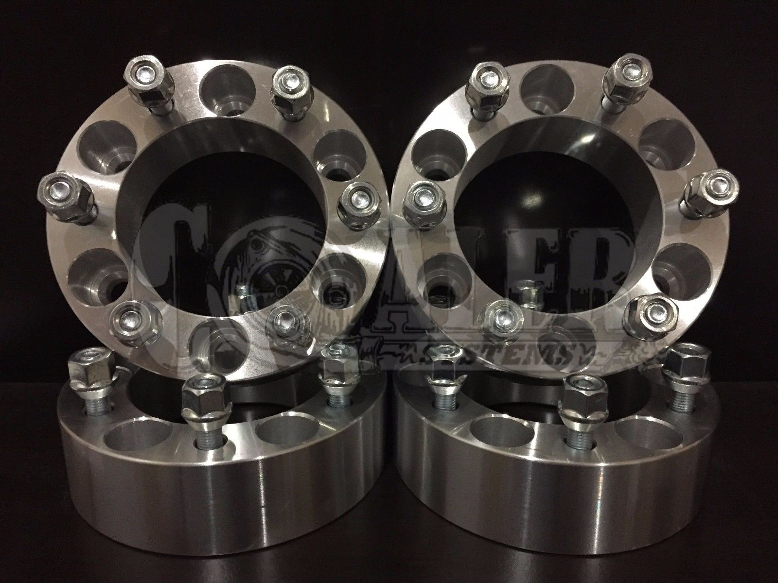 """2/"""" Chevy 6 Lug Wheel Spacers Adapters for 2007-2013 Chevrolet Avalanche 4"""