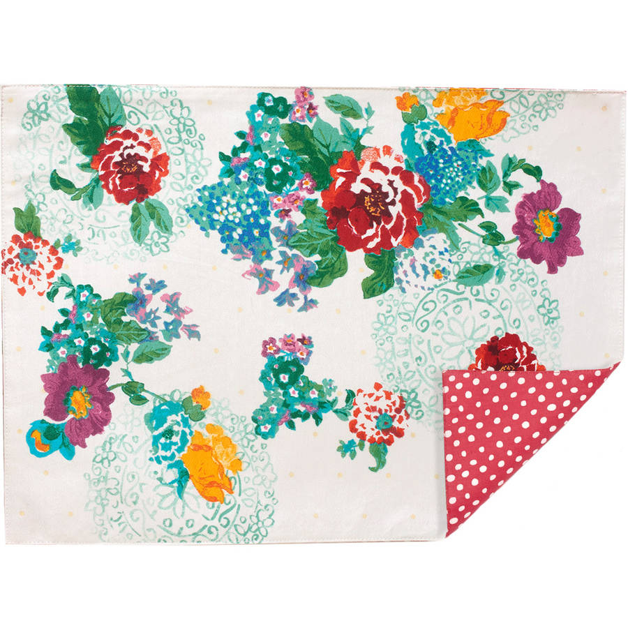 The Pioneer Woman Country Garden Placemat Walmart Com