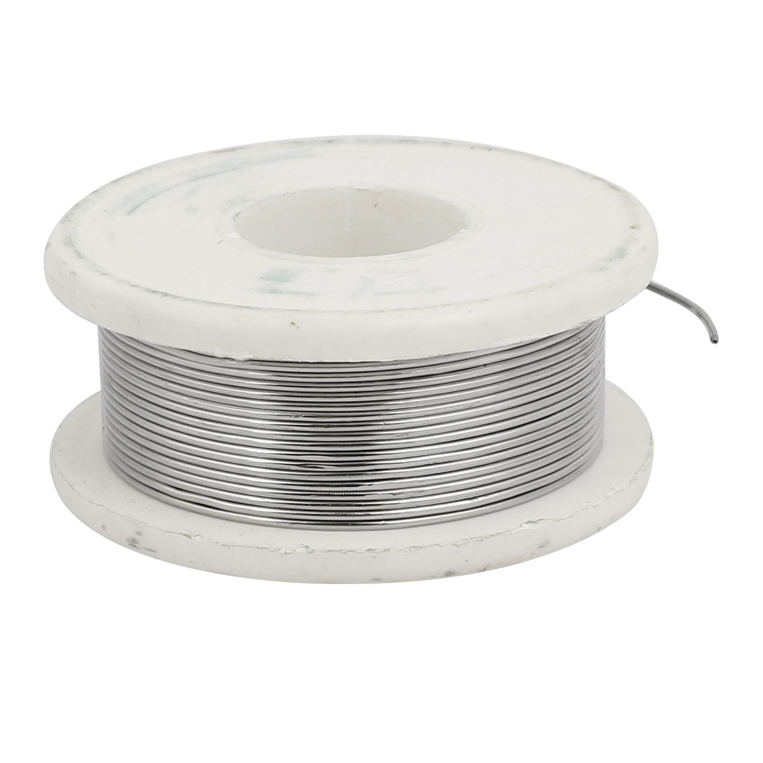 "Unique Bargains 0.8mm 0.03"" Dia 63/37 Tin Lead Rosin Core Soldering Iron Solder Wire Reel"