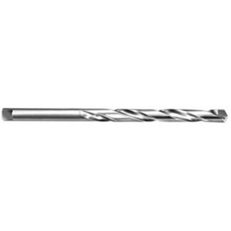 Super Tool 50297 0. 64 inch dia.  Carbide Tipped Taper Length Twist Drill, 135 deg Split Point 64' Cobalt Steel Taper
