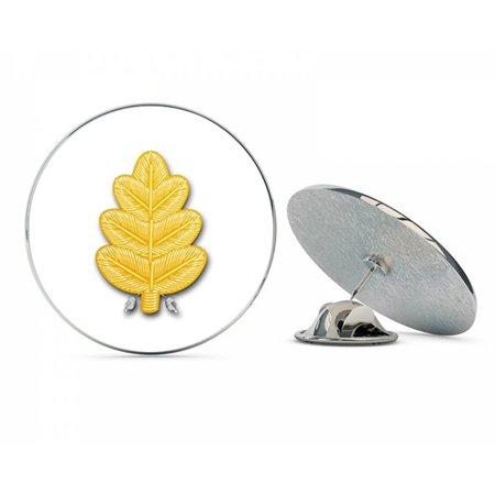 US Navy Dental Corps Oak Leaf  Military Veteran USA Pride Served Gift Metal 0.75