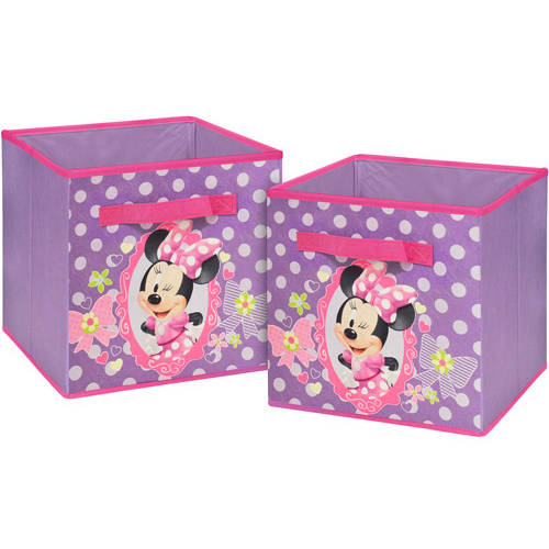 Disney Minnie Mouse 2-Pack Storage Cube