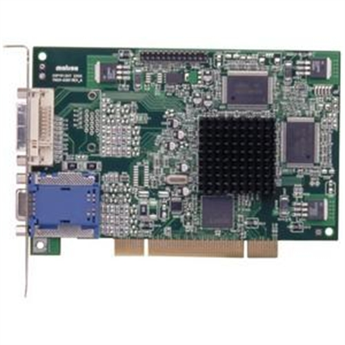 Matrox G450 MMS Graphics Card - Matrox G450 MMS - 128MB DDR SDRAM - PCI - LFH-60 - Retail